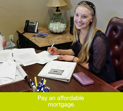Pay an Affordable Mortgage