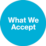 What We Accept