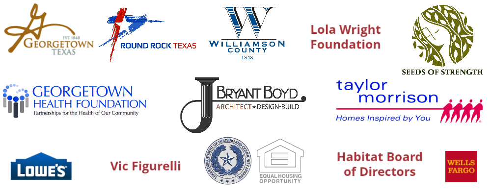 Habitat for Humanity Sponsors